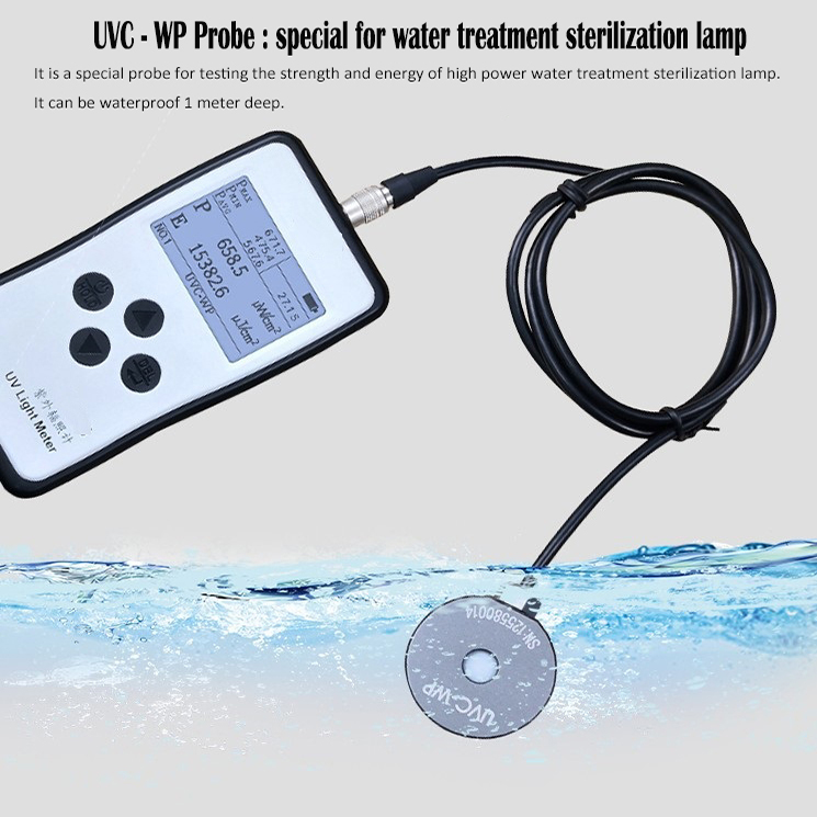 Accumulated UVC Light Meter for Water Quality Measurement