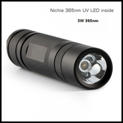 linterna led uv