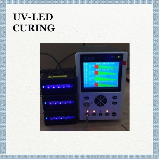 uv pegamento curado rápido uv led fuente de luz lineal 5 * 50mm tinta curado uv led
